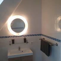 1st floor main bathroom with shower over the bath