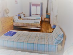 Bedroom 4 - family room 4 single beds or choice to have 1 double and 2 singles